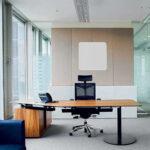 Termoarredo radiante policarbonato ufficio bianco