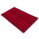 Tappeto riscaldante fashion ignifuga rosso